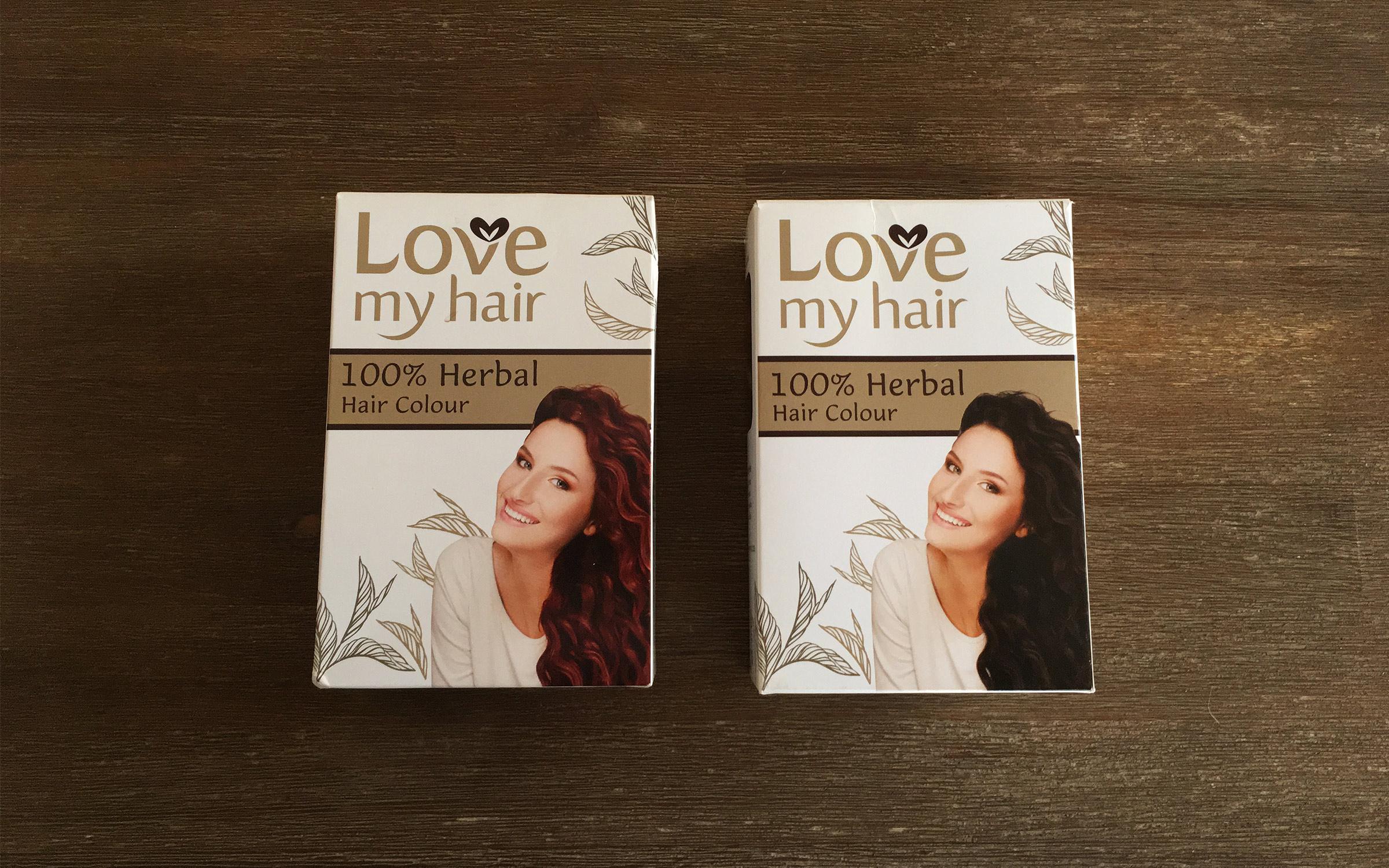 photo of product love my hair herbal hair dye