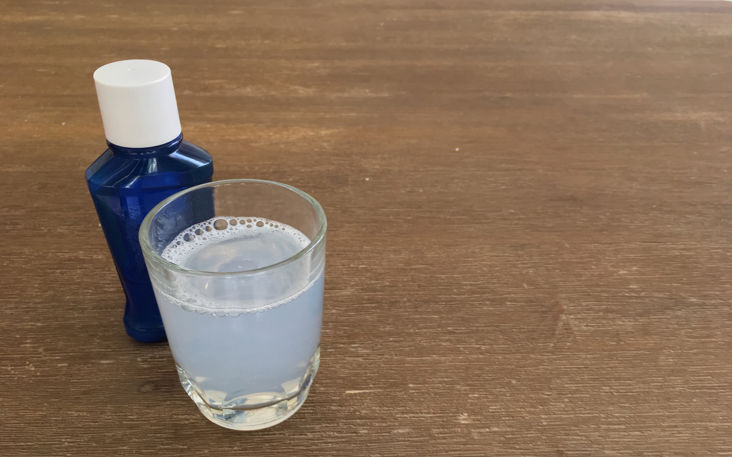 recipe image: natural and alcohol-free mouthwash