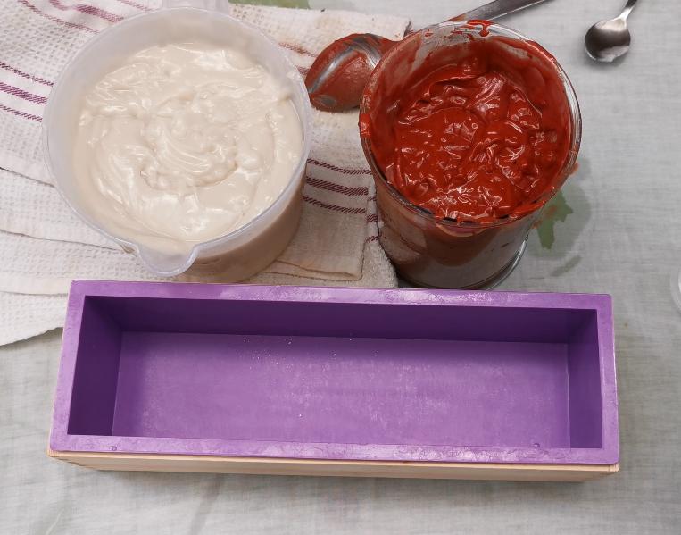 step 9 candy cane soap bar recipe